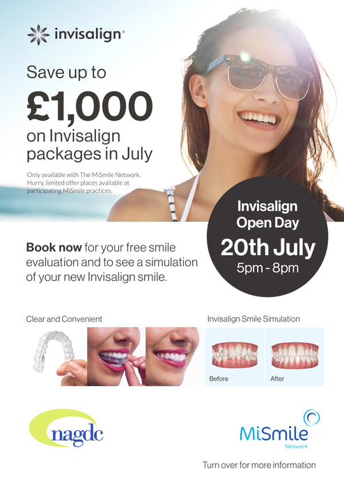 July Special offer on Invisalign